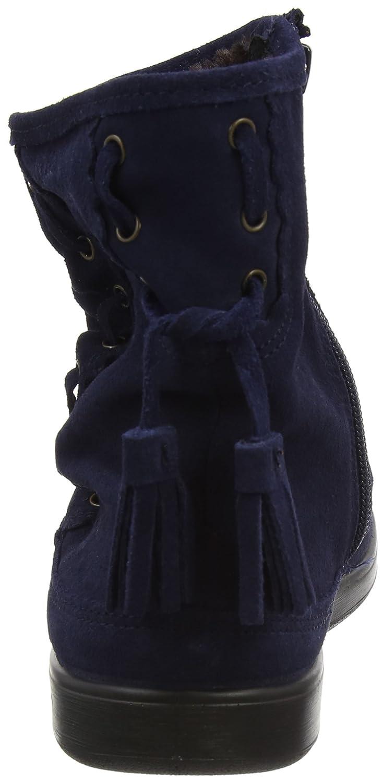 Pixie, Botas con Flecos para Mujer, Blue (Navy 030), 36 EU Hotter