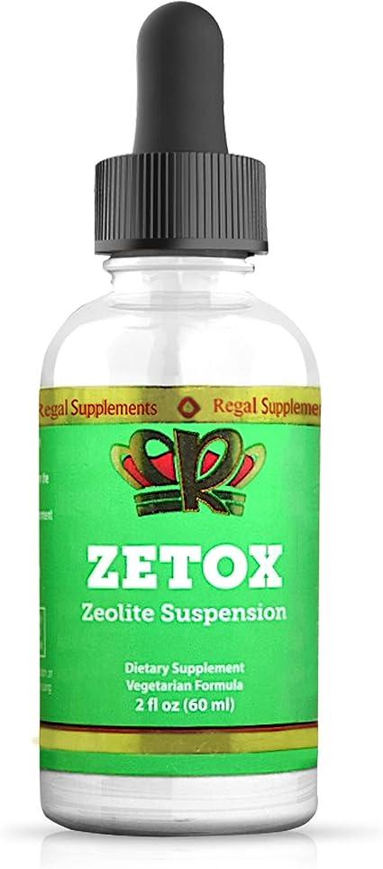 Zeolit Detox - Herbagetica, 60 capsule (Detoxifiere) - parohiamogosani.ro