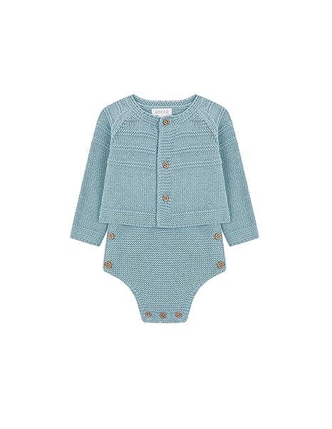 Gocco S81OJPCA902, Conjunto de Ropa para Bebés, (Verde Suave), 3-6 Meses: Amazon.es: Ropa y accesorios