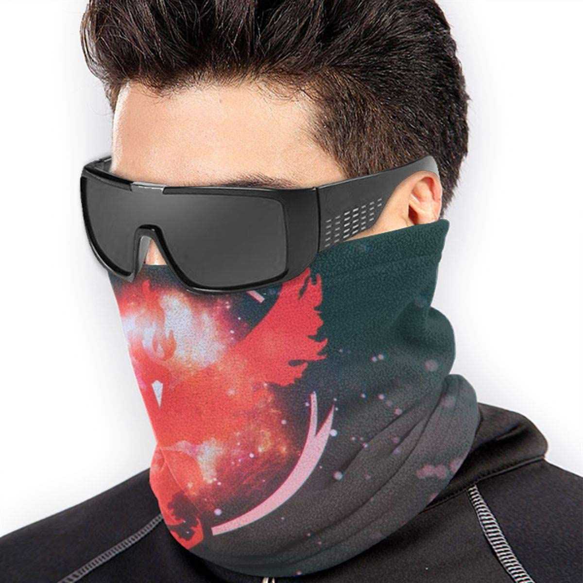 NA Digital Artist Mask Warm Neck Scarf Outdoor UV Protection Party Cover Men and Women Multi-Function Headdress