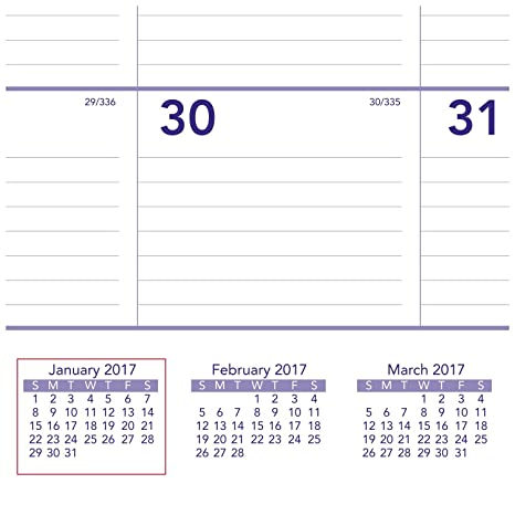 Amazon.com: AT-A-GLANCE Calendario de pared 2017, mensual ...