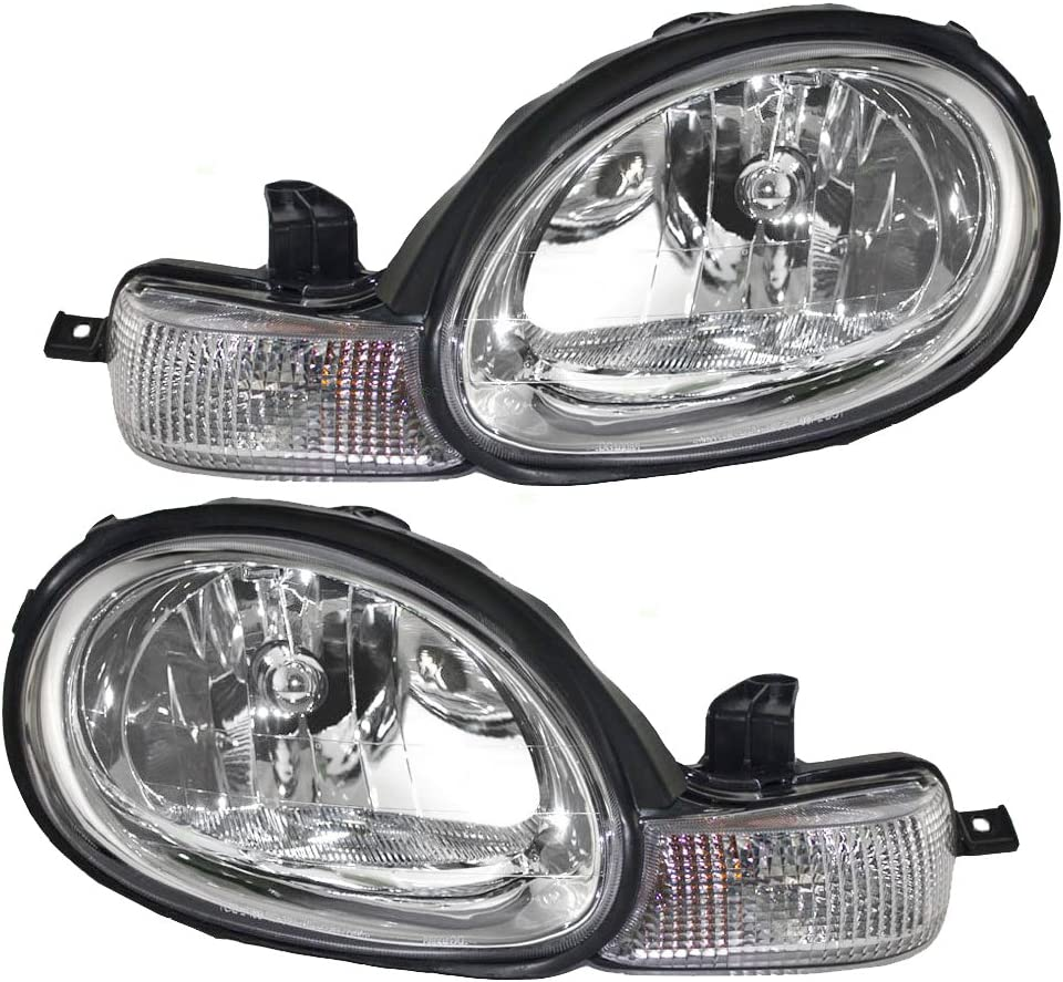New CH2502124 Driver Side Headlight for Dodge Neon 2000-2002
