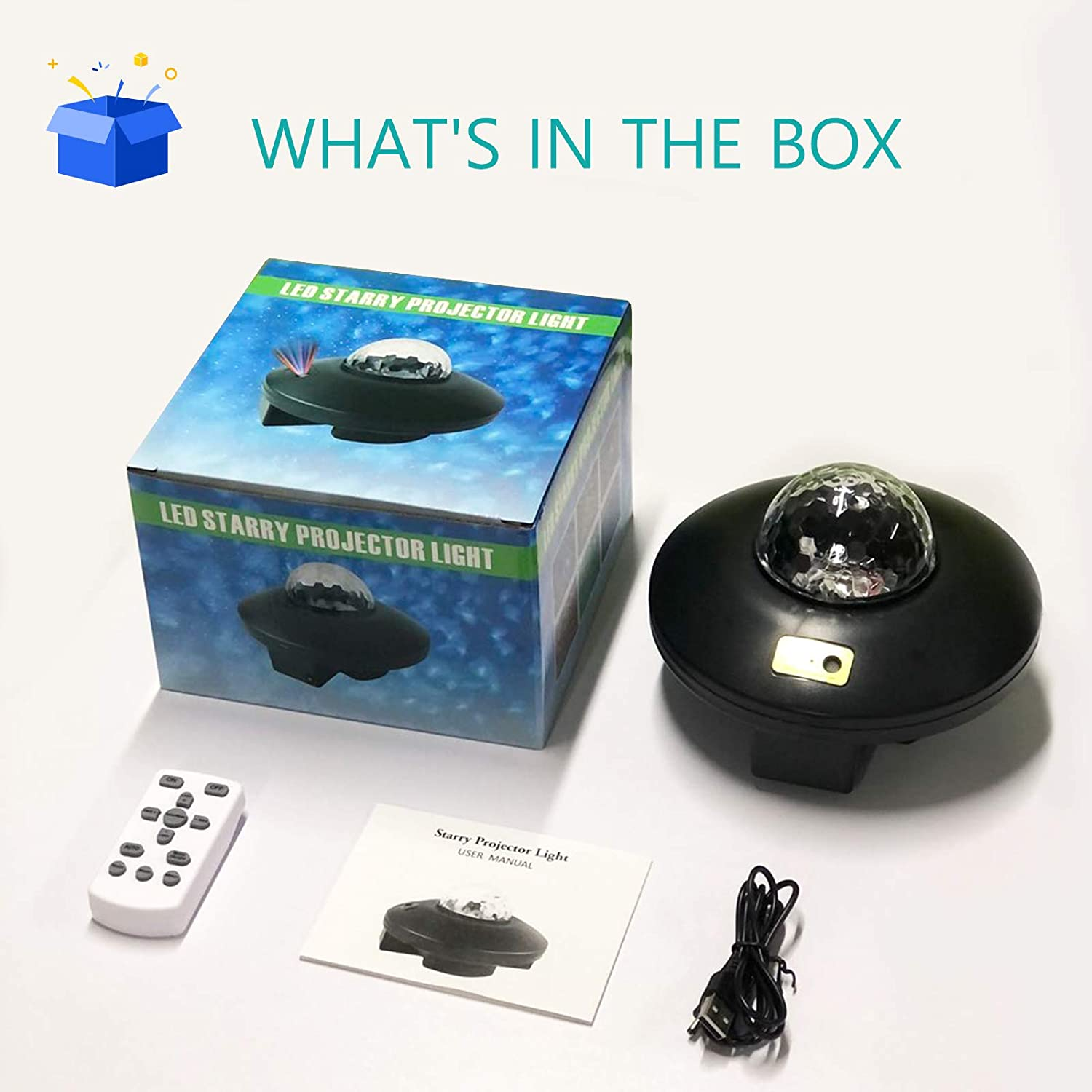 Sky Lite with Bluetooth Speaker & Remote Control Game Rooms 2 in 1 ...