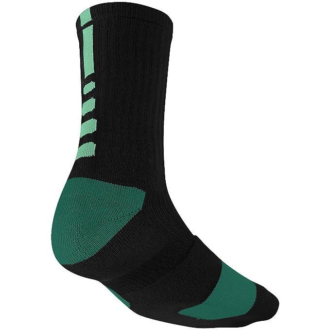 Calcetines Nike Mens Elite Basketball Crew, Negro, Talla š²nica: Amazon.es: Ropa y accesorios