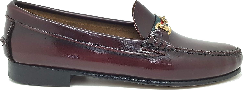 1901 Men's Loafer Flats Burgundy