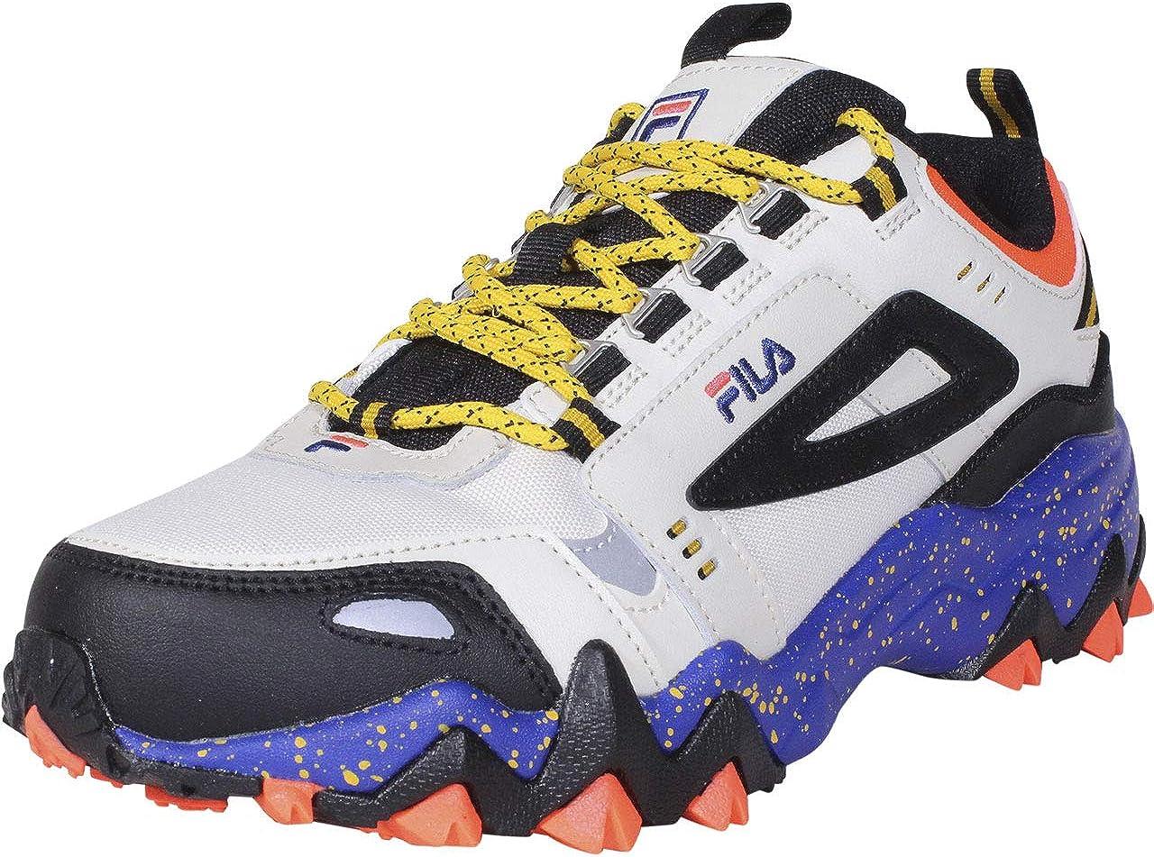 Fila Men's Oakmont TR Leather Retro Inspired Hiking Sneaker Shoes