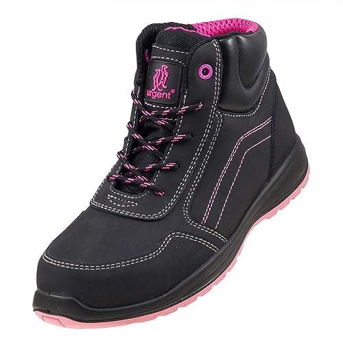 Urgent 116 S1 - Zapatos de seguridad para el trabajo para mujer, norma EN ISO 20345, en embalaje original