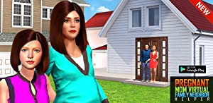 Pregnant Mom Virtual Family Neighbor Helper from The Game Storm Studios
