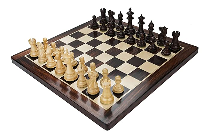 CHESSNCRAFTS Premium Rosewood Chess Board