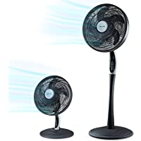 2in1 staande ventilator extra zacht   smarte Tuya app + Amazon Alexa + Google Assistent   VTX300 55W tafelventilator met…