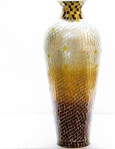 DecorShore 20″ Amphora Nouveau Moorish Vase