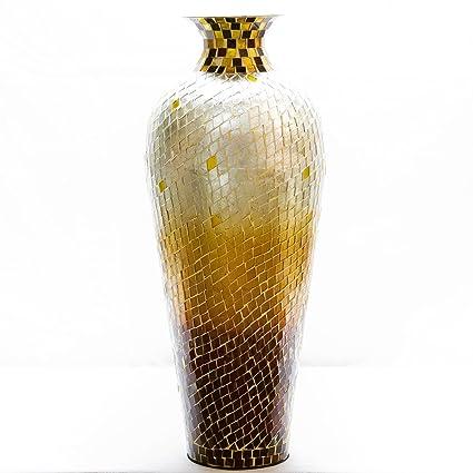 Amazon Decorshore 20 Amphora Nouveau Moorish Vase Metal Floor