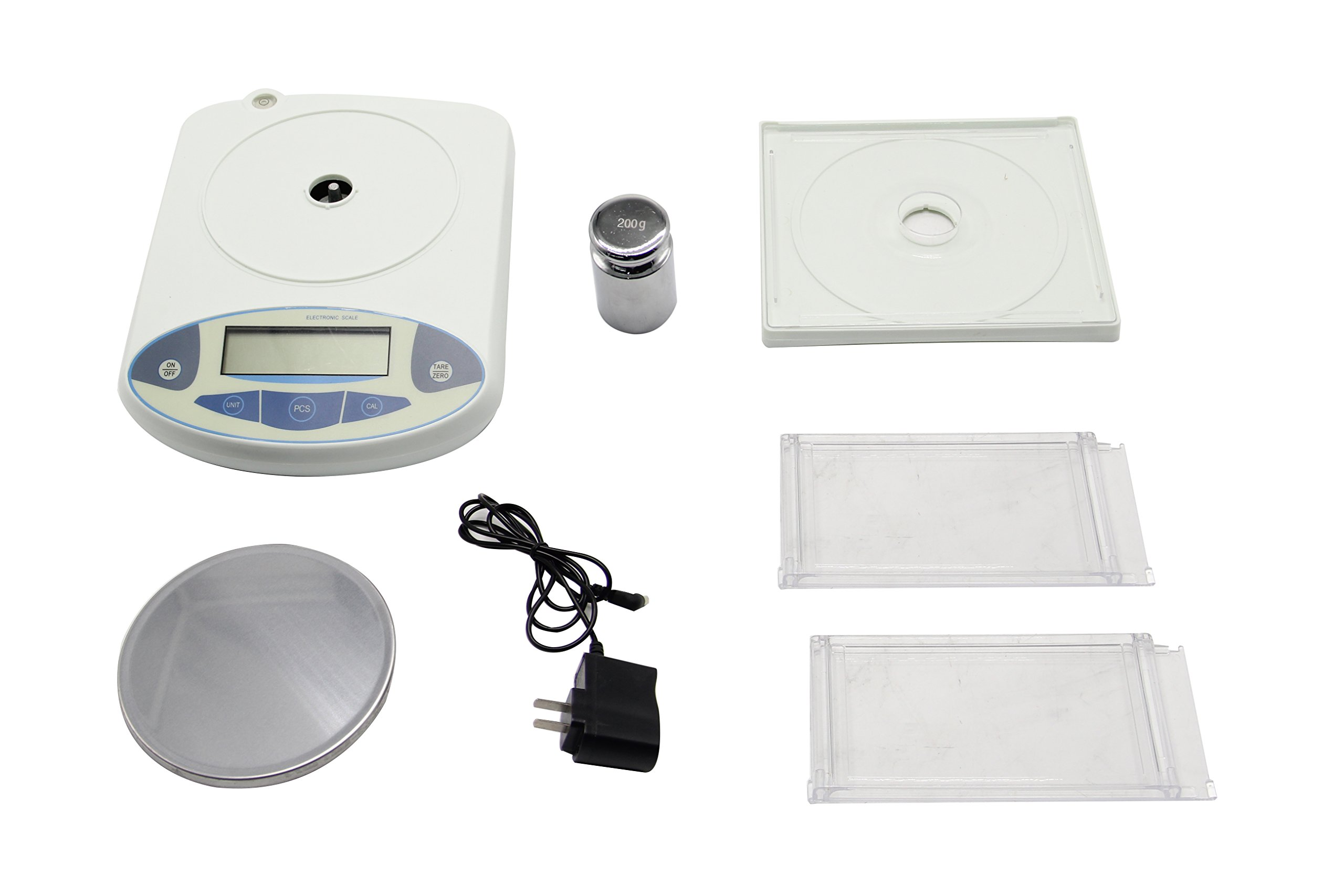 BAOSHISHAN 200g/1mg Lab Scale Precision 0.001g Analytical Electronic Balance Lab Precision Weighing Balance Scales Jewelry Scales Calibrated