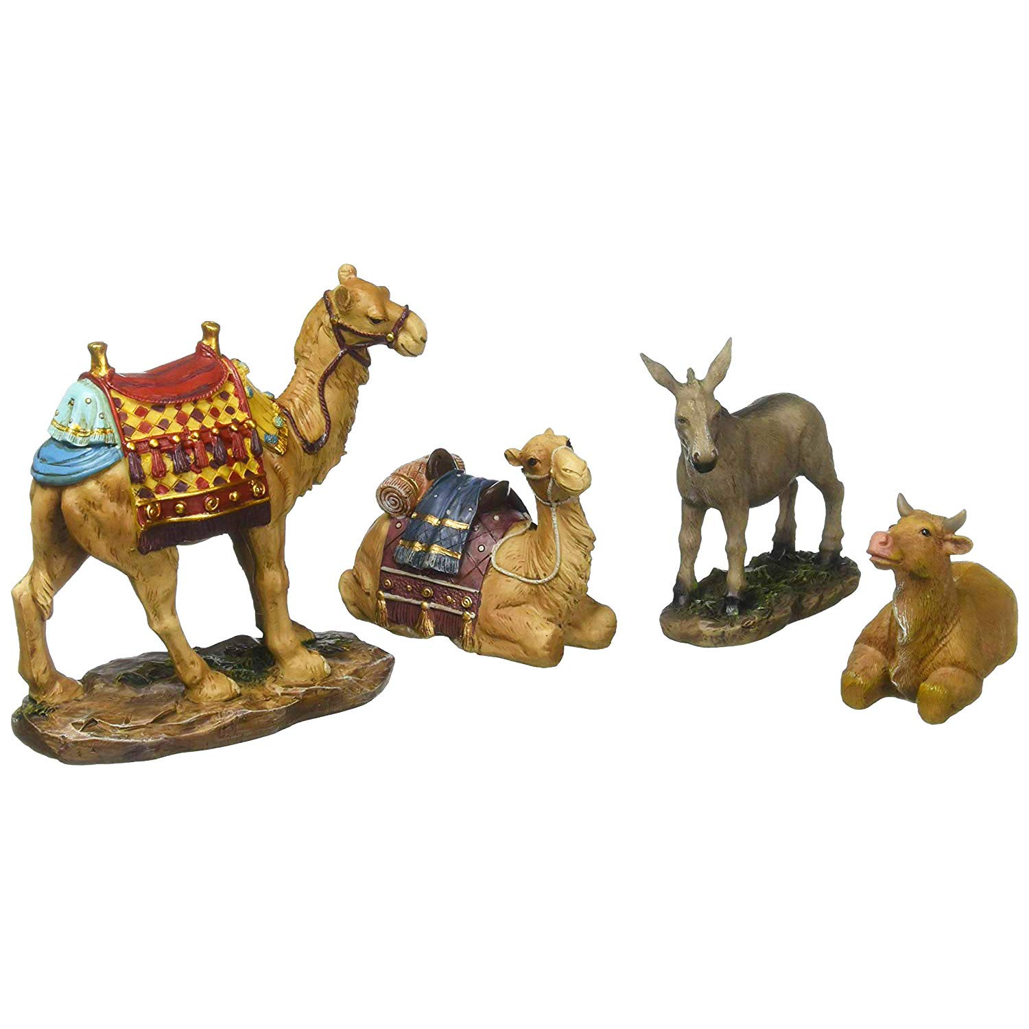 Christmas Nativity Animals Set for 10 inch Nativity by Three Kings Gifts
