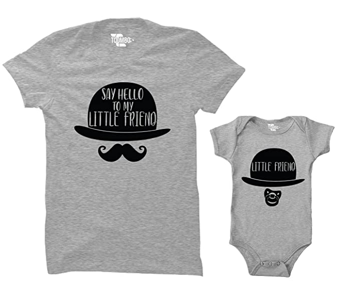 dc4bbfd2 Say Hello to My Little Friend/Little Friend Matching Bodysuit & Women's T- Shirt