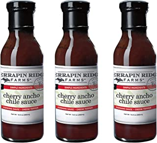 product image for Terrapin Ridge Farms Dipping Sauce Cherry Ancho Chili, 16.5 FL OZ Pack of 3 (Cherry Ancho Chili, 16.5 FL OZ Pack of 3)