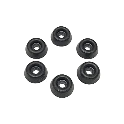 Black Rubber Body Savers (6) for Traxxas X-Maxx XMAXX: Toys & Games
