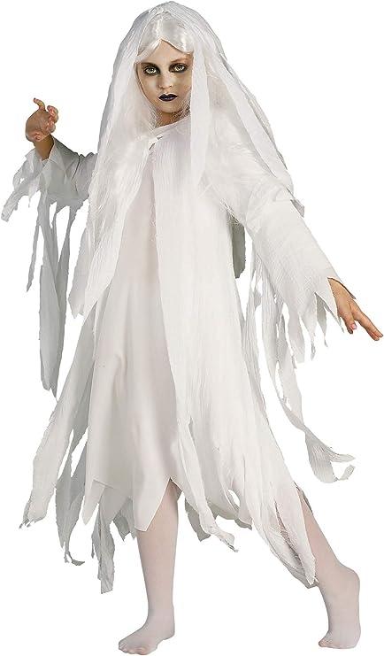 Rubbies - Disfraz de fantasma para niña, talla M (883816M): Amazon ...