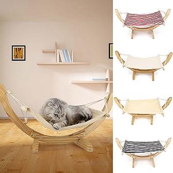 hot sale  wooden deluxe pet cat hammock swing bed  fy nest dog hanging cradle furniture amazon     hot sale  wooden deluxe pet cat hammock swing bed      rh   amazon