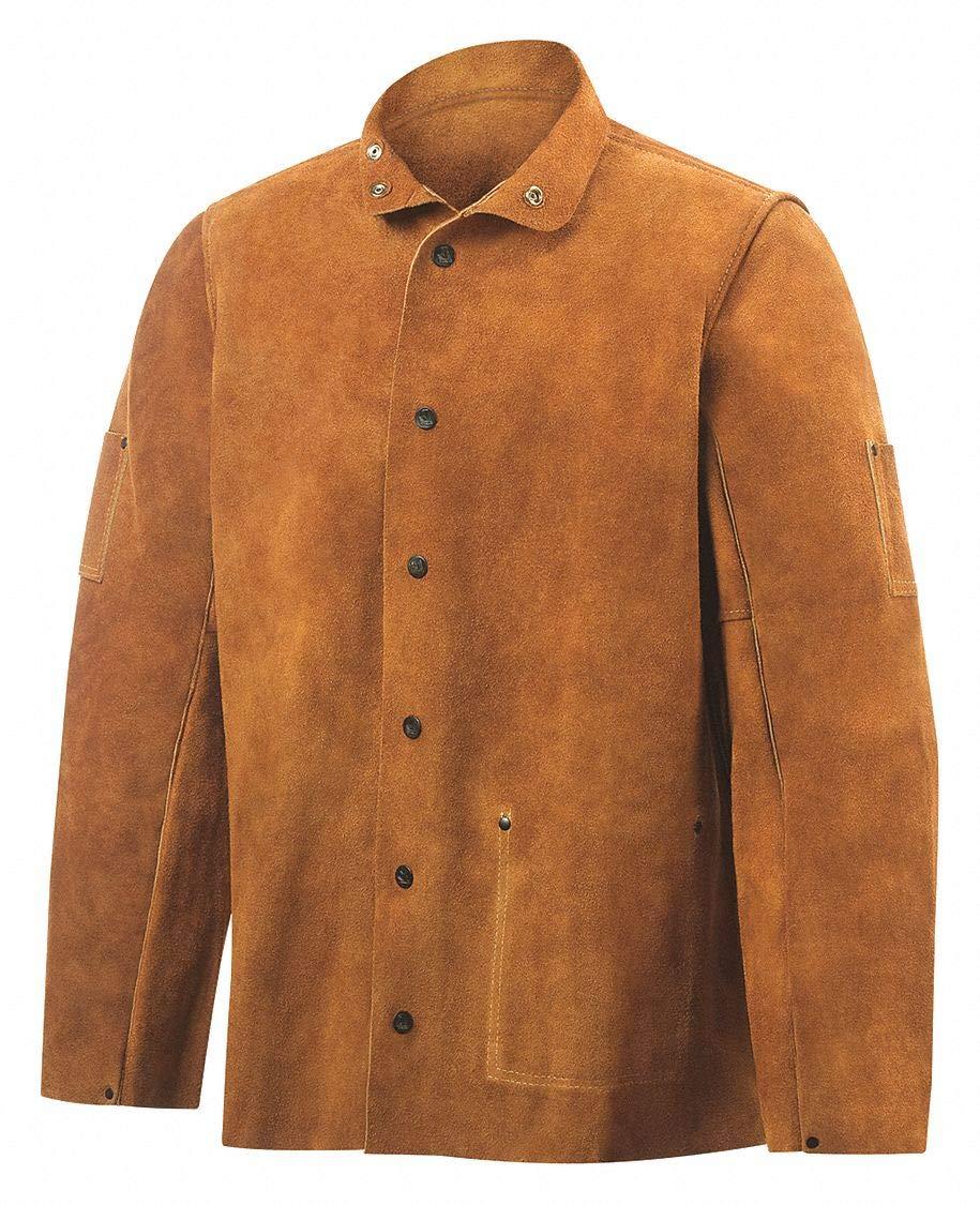 L Welding Jacket 30 Brown