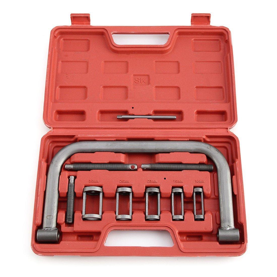 Compressor Tool - TOOGOO(R) 10 pcs Car Motorcycle Valve Spring Compressor Tool Bit Set