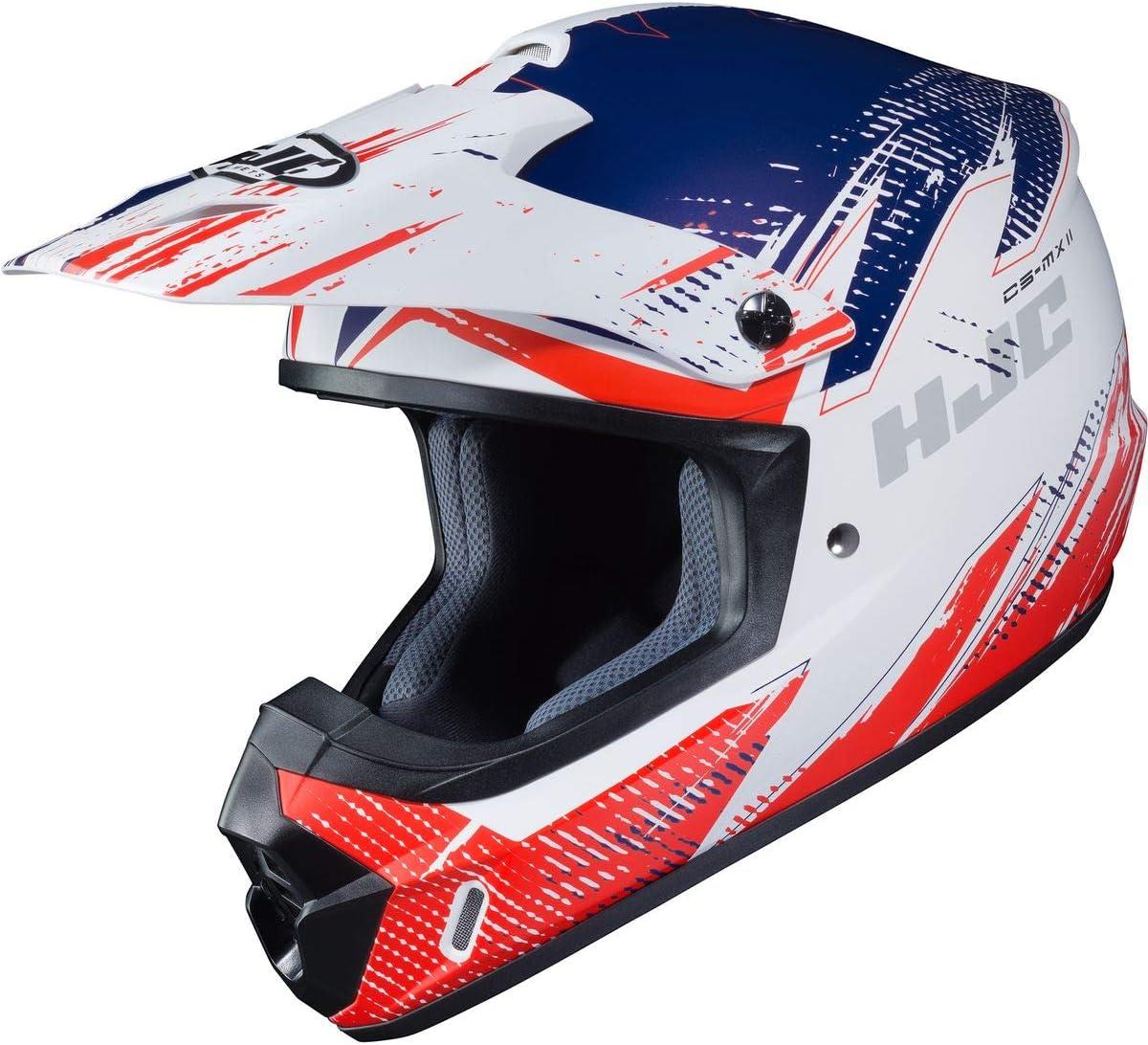X-Small HJC Helmets CS-MX 2 Krypt Adult Off-Road Motorcycle Helmet MC-1SF