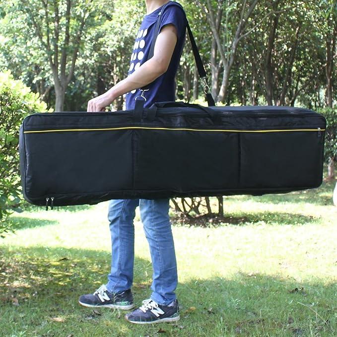 Funda de Teclado de 88 Teclas del Piano Eléctrico Portátil Caso Acolchado Funda de Tela Oxford: Amazon.es: Instrumentos musicales