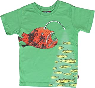 product image for City Threads Little Boys' Lantern Fish Tee in Elf (c)