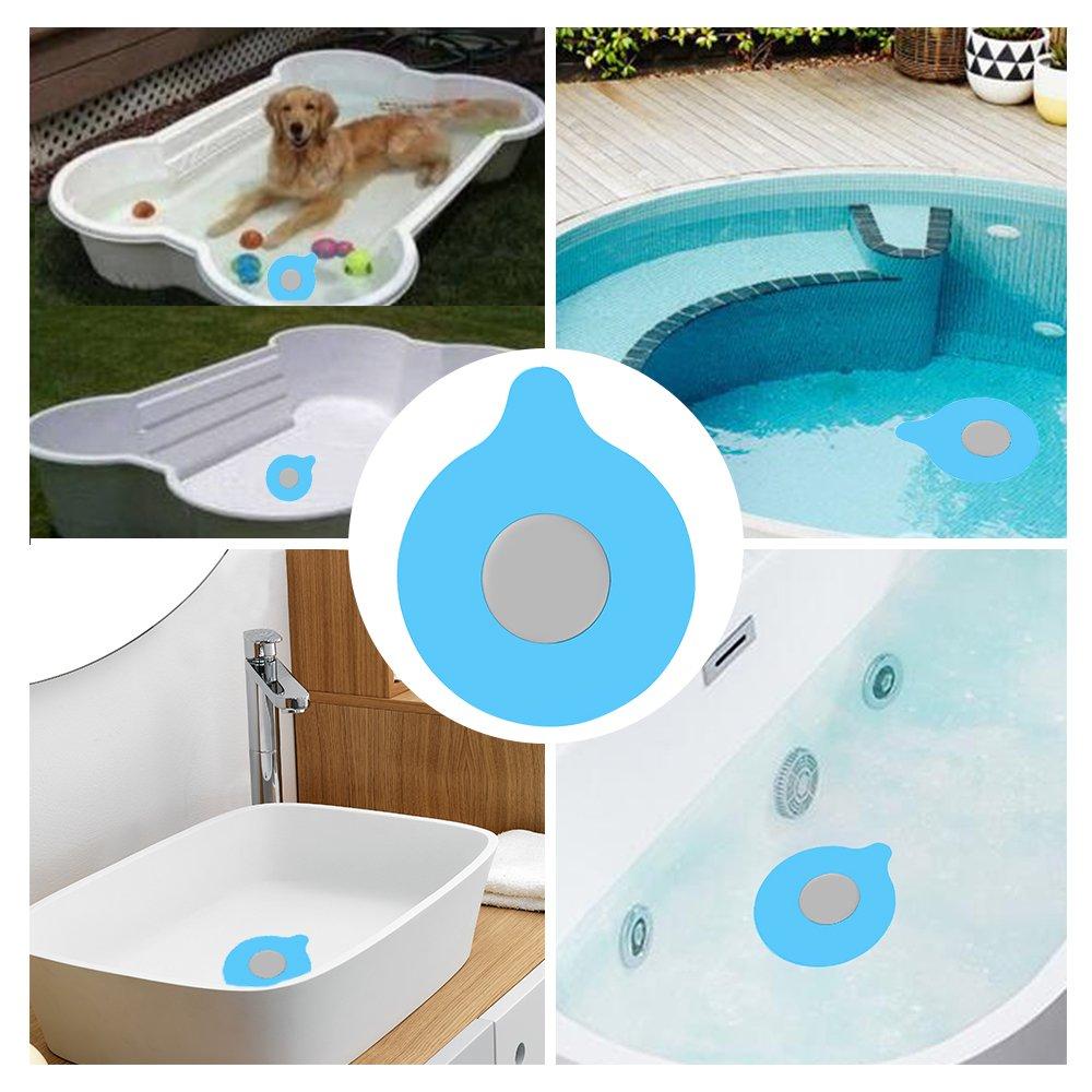 Amazon.com: Bathtub Drain Stopper Silicone Bath Tub Drain Stopper ...