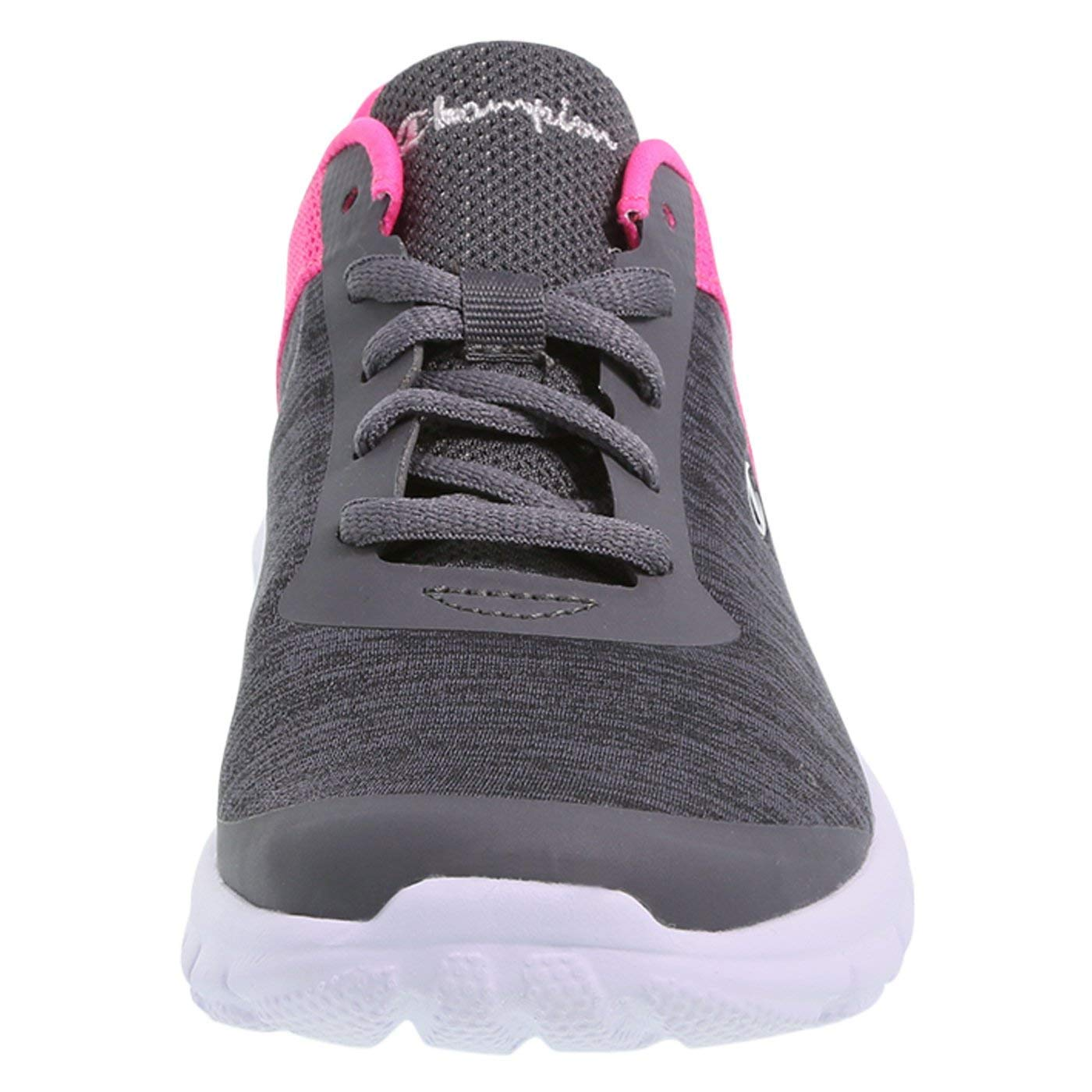 18df78ad95862 Champion Girl s Grey Jersey Pink Girls  Performance Gusto Cross Trainer  Little Kid Size 13 Regular larger image