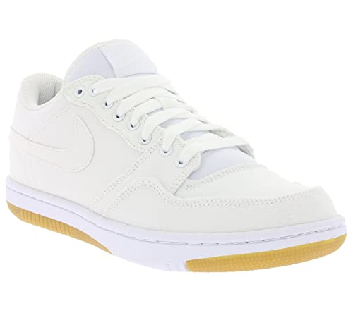 online retailer bab67 4cdd3 Nike Court Force Low, Zapatillas de Deporte para Hombre, Blanco White-Gum  Light Brown, 45 12 EU Amazon.es Zapatos y complementos