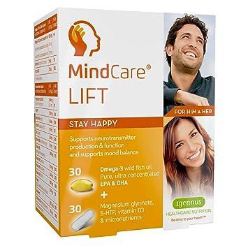 MindCare LIFT, para mantener el equilibrio del estado de ánimo y la producción de neurotransmisores