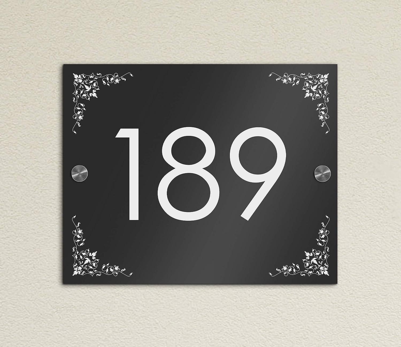 Entrada Cartel Número de Casa con grabado Placa para puerta ...