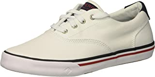 Sperry Top-Sider Boys' Striper II/White Sneaker, 125 Medium US Little Kid YB60439