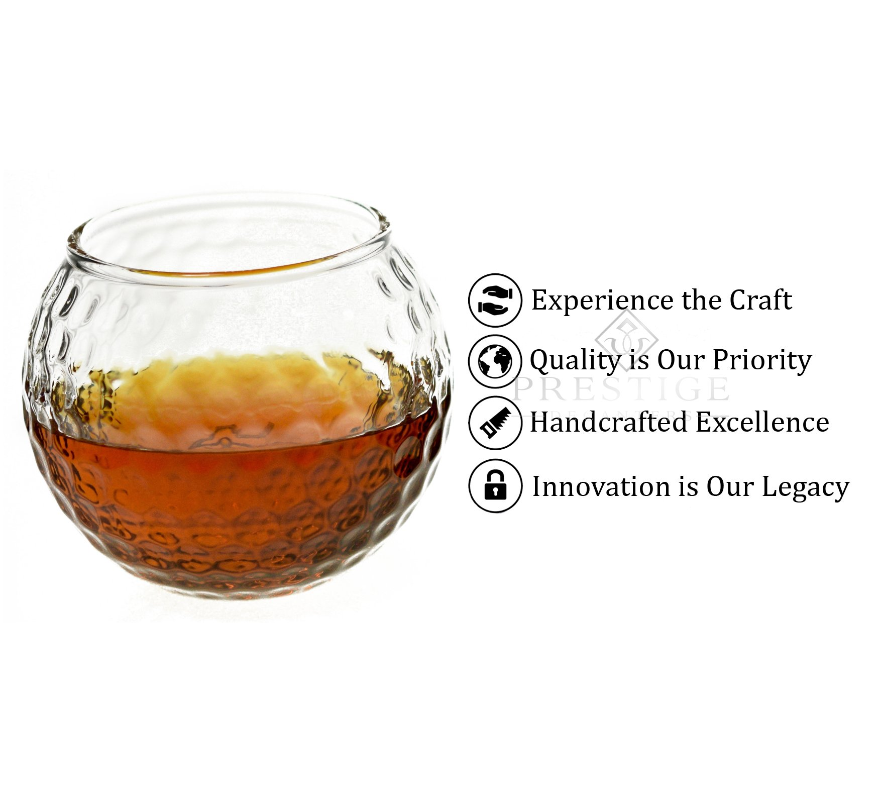Golf Whiskey Glasses (Set of 2), Unique and Funny Golf Gifts for Men and Women, Fun Rum glasses, Old Fashioned Glass