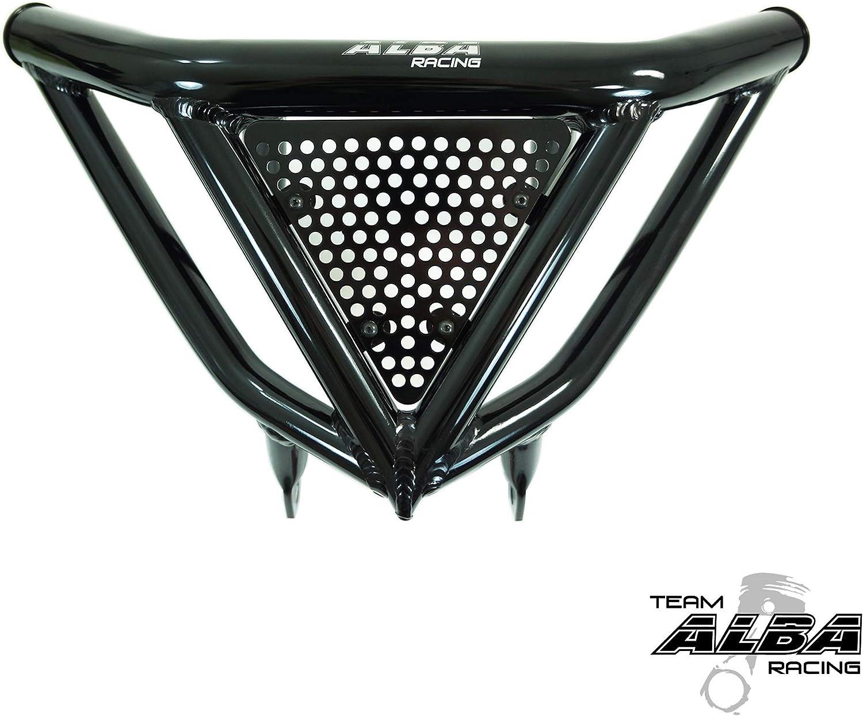 2004-2009 Yamaha YFZ 450 Standard Nerf Bars Black w//Black Net 2012-2013