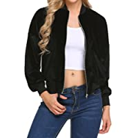 Khhalisi Women'S Full Sleeves Jacket with Pocket Zipper