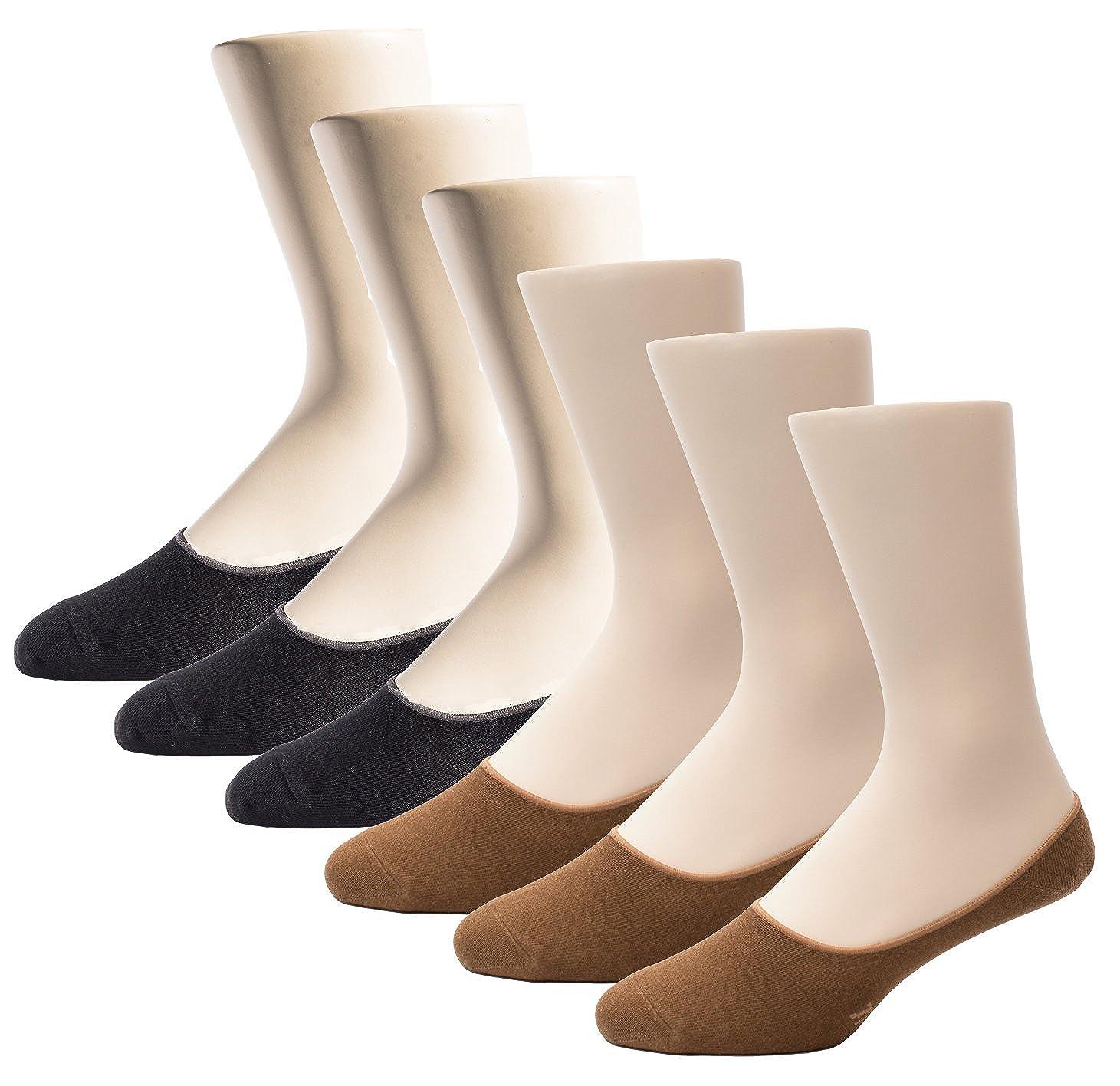 Amazon.com: Thirty48 Men No Show Socks, Loafer Socks Boat ...