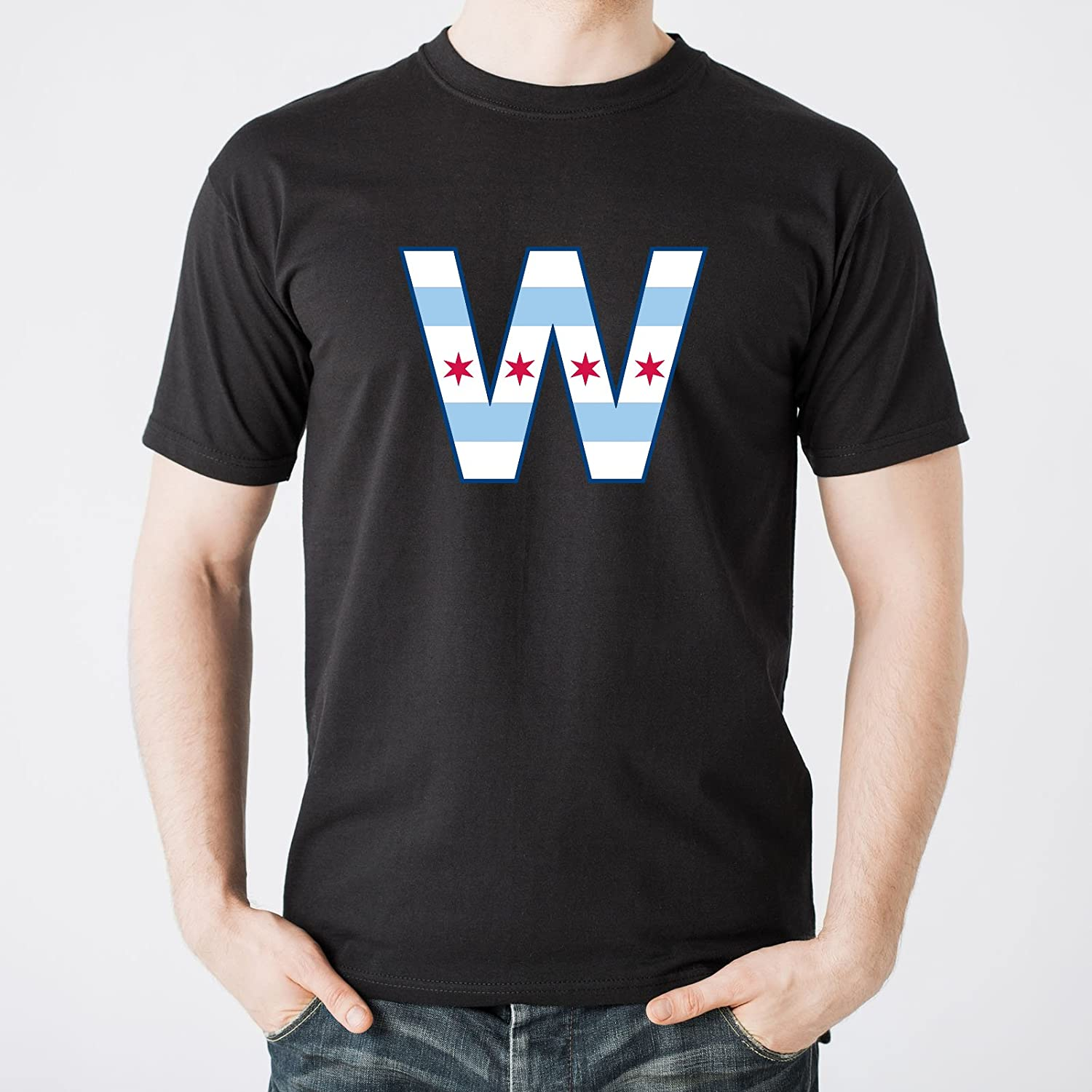 City Flag Chicago Mens T Shirt