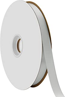"product image for Offray Berwick 5/8"" Single Face Satin Ribbon, Shell Gray, 100 Yds"