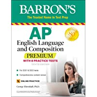Image for AP English Language and Composition Premium: With 8 Practice Tests (Barron's Test Prep)
