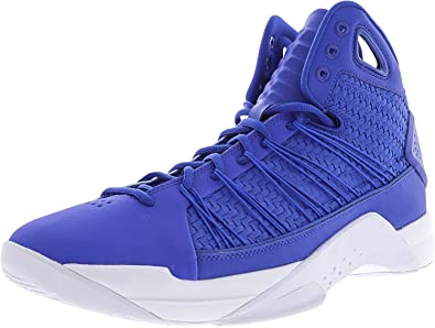 NIKE Hyperdunk Lux Lifestyle Basketball Sneakers Hyper Cobalt/Hyper Cobalt  New 818137-400 -