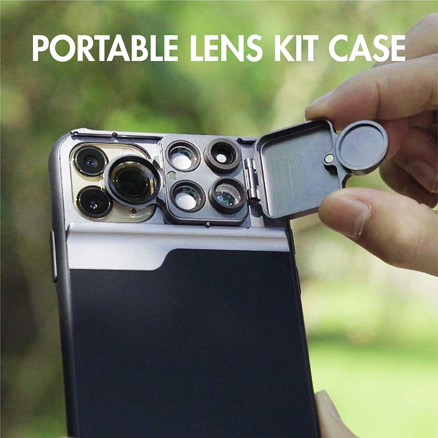 Phone Camera Lens Kit for iPhone 11 Pro 5 in 1 Lens for iPhone 11 Pro Case CPL Filter+10X//20X Macro Lens+180/° Fisheye Lens for iPhone 11 Pro 2X Telephoto Lens Phone Accessories Kits