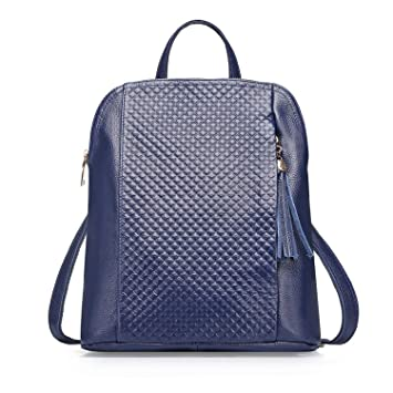 Women Fashion Backpack   Genuine Leather Backpack For Daily   Cow Leather  Backpack With Fringes   39851f677a