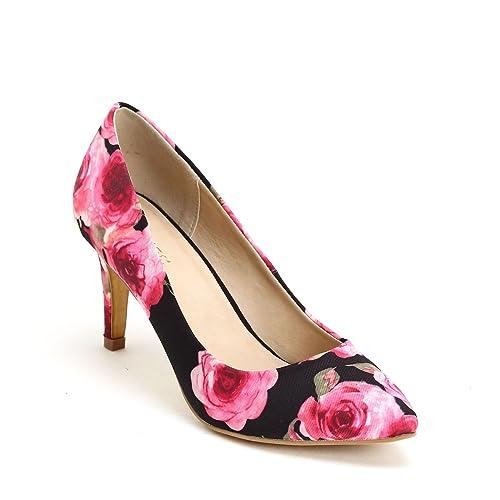 Obsel By Scarpe Scarpe Zapatos De Salon Con Punta Alargada Y