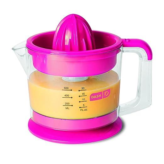 pink purple dash amazoncom dash go citrus juicer kitchen kitchen dining