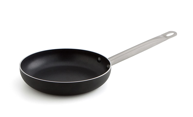 Quid Pro Chef - Sartén de acero inox 36 cm, apta para horno e inducción: Amazon.es: Hogar