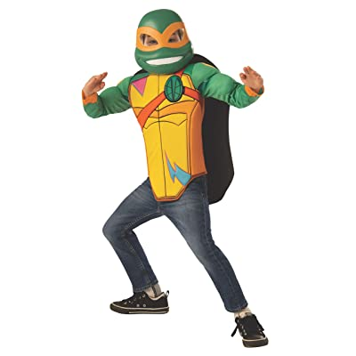 Imagine by Rubie's Child's Rise of The Teenage Mutant Ninja Turtles Deluxe Michelangelo Dress Up Set, Small: Toys & Games