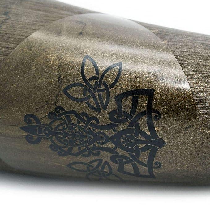 vegan Trinkhorn Weltenschlange lebensmittelecht Made in Germany 500 ml