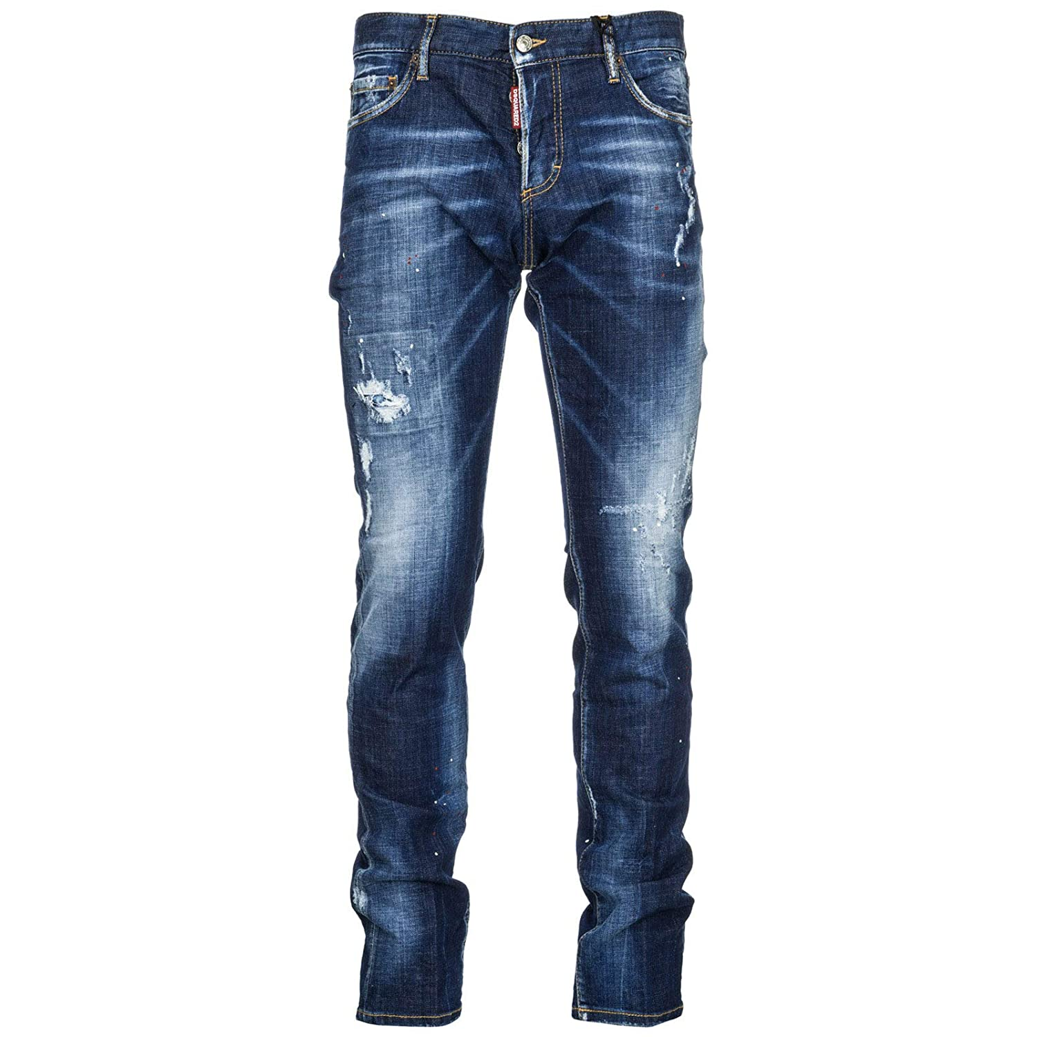 Dsquarosso2 Jeans Uomo Uomo Jeans Blu a25b22 - safefrombullies.com 44d1c8b4a3a